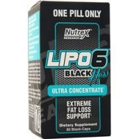 Lipo 6 Black Hers Ultraconcentrate Nutrex 60 capsule