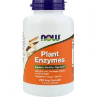 NOW Plant Enzymes 240 vcaps