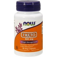 Now 7-Keto 100 mg 30 veg cap