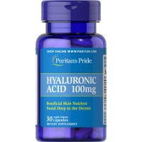 Puritan`s Pride Hyaluronic Acid Collagen Glucosamine 60 caps