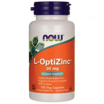 Now L-OptiZinc 30 mg 100 veg caps