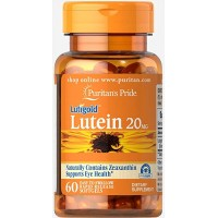 Puritan`s Pride Lutein 20 mg with Zeaxantin 60 softgels