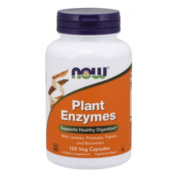 NOW Plant Enzymes 120 vcaps