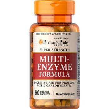 Puritan`s Pride Multi-Enzyme Formula 60 caps