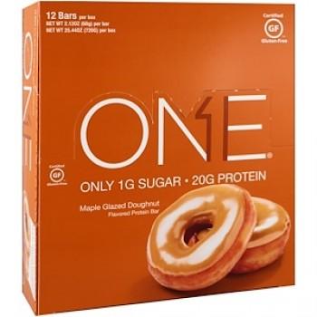 Oh Yeah!One Bar, Maple Glazed Doughnut, 12 Bars (60g)