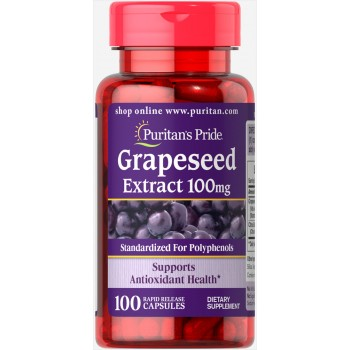 Puritan`s Pride Grapeseed Extract 100 mg 100 caps