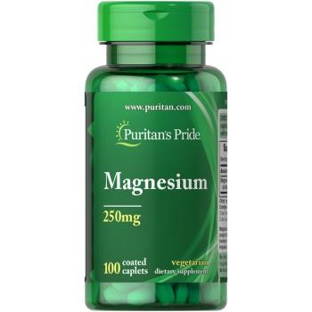 Puritan`s Pride Magnesium 250 mg 100 caplets