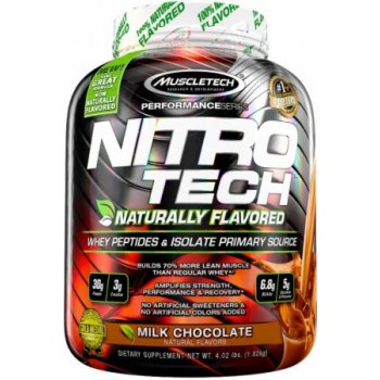 Muscletech Nitro-Tech Naturally Flavored 1,8 kg