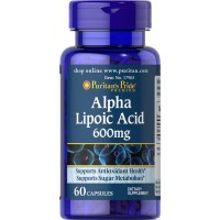 Puritan`s Pride Alpha Lipoic Acid 600 mg 60 caps