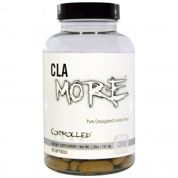 Controlled Labs CLA More 90 softgels