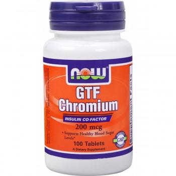 Now GTF Chromium 200 mcg 100 tab