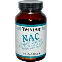 Twinlab NAC 60 caps