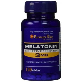Puritan`s Pride Melatonin 3 mg 120 tab