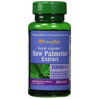 Puritan`s Pride Saw Palmetto 1000 mg 90 softgels