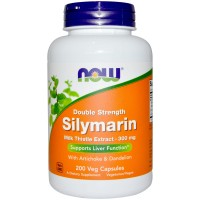 Now Silymarin double Strength 300 mg 50 vcaps