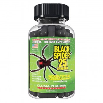Cloma Pharma Black Spider