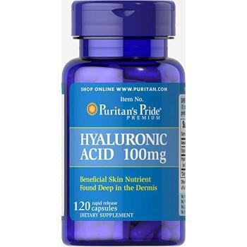 Puritan`s Pride Hyaluronic Acid 100 mg 30 caps