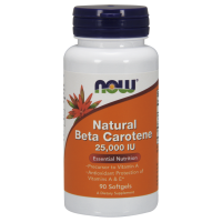 Now Beta Carotene 90 softgel