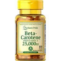 Puritan`s Pride Beta Carotene 10000iu 100 caps