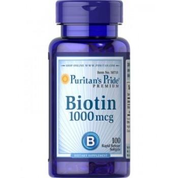 Puritan`s Pride Biotin 1000 mg 100 caps