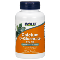 Now Calcium D-Glucarate 500 mg 90 veg caps