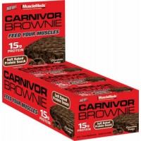 Musclemeds Carnivor Brownie 12 bc