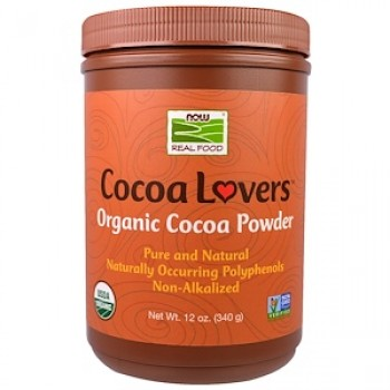 Now Cocoa Powder 340g