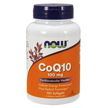 Now CoQ10 100mg 150 softges