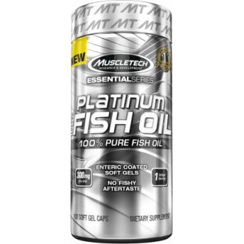 Muscletech Platinum Fish Oil 100 softgel