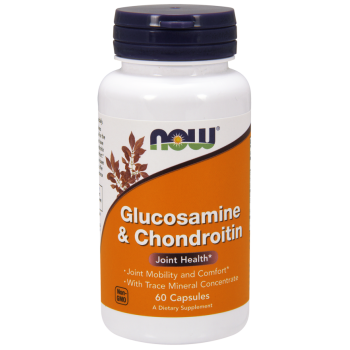 Now Glucosamine & Chondroitin With Trace Mineral Concentrate 60 cap