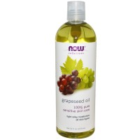 Now Grapeseed Oil  100% Pure Senzitive Skin Care 473 ml