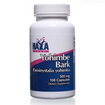 Haya Labs Yohimbe Bark 500 mg 100 caps