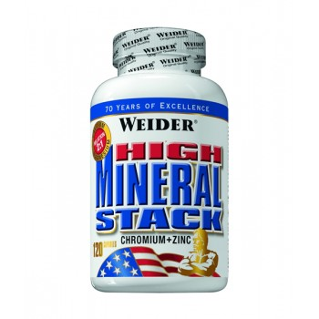 Weider High Mineral Stack 120 caps