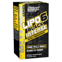Nutrex Lipo 6 Black Intense Ultraconcentrate 60 caps US