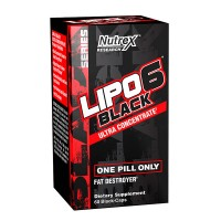 Lipo 6 Black Ultraconcentrate US 60 caps