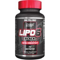 Lipo 6 Black Ultraconcentrate Nutrex 10 capsule