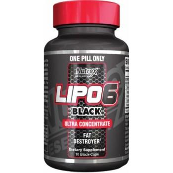 Lipo 6 Black Ultraconcentrate Nutrex 10 capsule