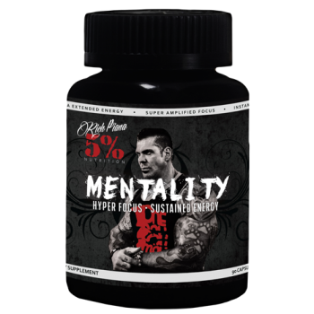5 Nutrition by Rich Piana Rich Piana 5% Nutrition Mentality 90 caps