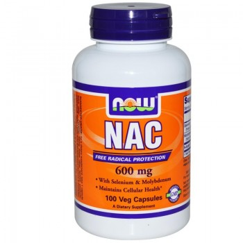 Now NAC 1000 mg N-Acetyl Cysteine 120 vcaps