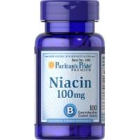Puritan`s Pride Niacin 100 mg