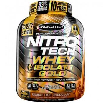 Muscletech Nitro Tech Whey Isolate Gold 1,8 kg