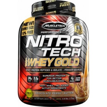 Muscletech Nitro Tech Whey Gold 2.5 kg