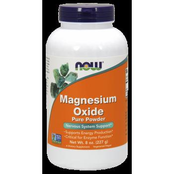 Now Magnesium Oxide Pure Powder 227 g