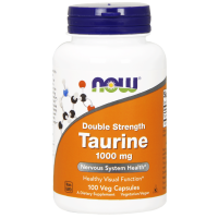 Now Taurine 1000 mg 100 veg caps