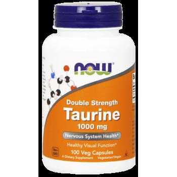 Now Taurine 1000 mg 100 veg caps