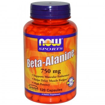 Now Beta Alanine 750 mg 120 caps