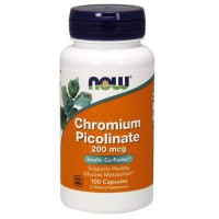 Now Chromium Picolinate 100 caps
