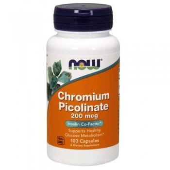 Now Chromium Picolinate 100 caps