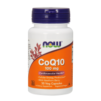 Now CoQ10 100 mg 30 caps