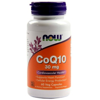 Now CoQ10 30 mg 60 vcaps